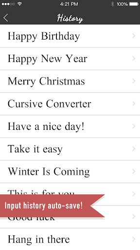 Cursive Converter 7.1.6 Windows u7528 2