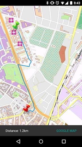 Bergen - Norway Offline Map