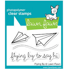 Lawn Fawn Clear Stamps 3X2 - Flying By