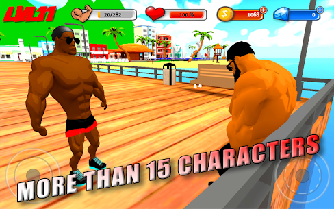 Iron Muscle 3D Apk – 3D bodybuilding fitness game – Iron Muscle 5