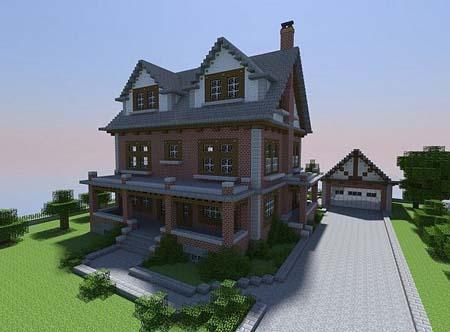 350 Modern House for Minecraft 1.0 screenshots 2