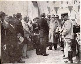 Photo: Presidente Washington Luis iniciando sua subida serra acima na inauguração da Rodovia Washington Luis. Foto de 1928