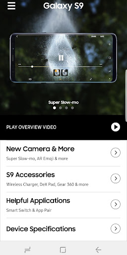 Experience app for Galaxy S9/S9+ 1.3.2 screenshots 2
