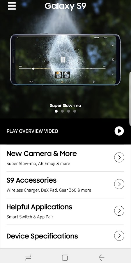SAMSUNG S9 GOOGLE PLAY EDITION