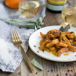 Sweet Potato Gnocchi with Pumpkin Brown Butter