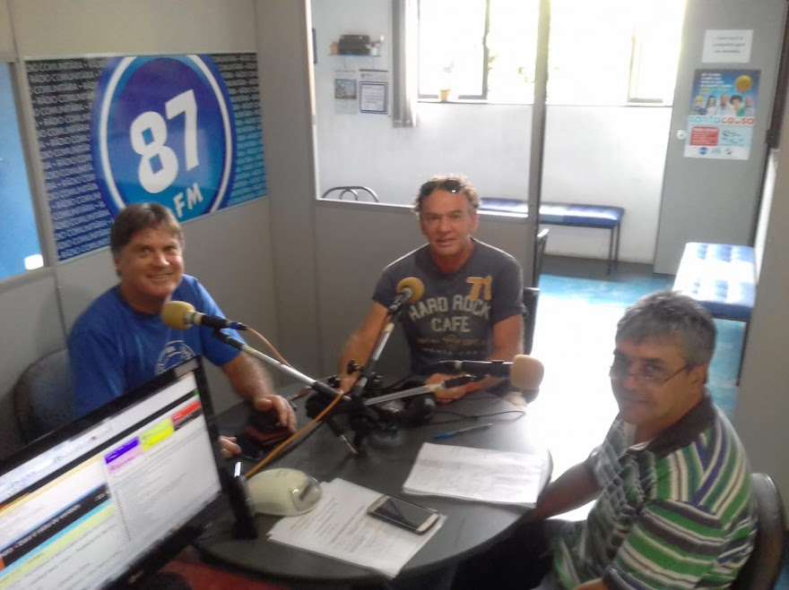 José Luiz Fernandes, João Carlos Prosperi e Donacio Silva