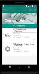 Connect Survey Lite - náhled