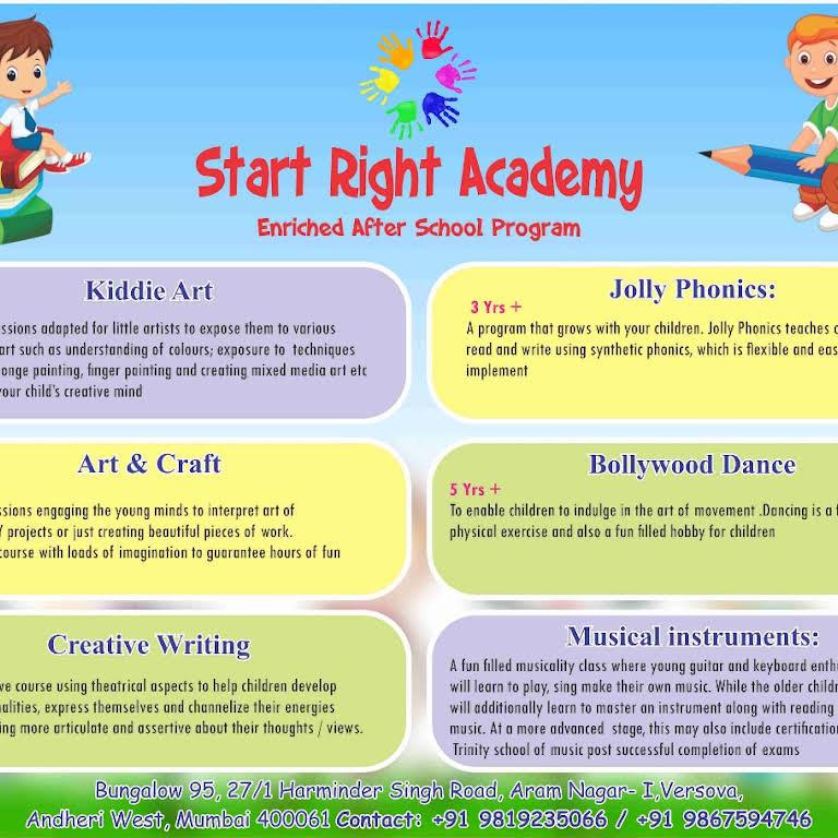 Start Right Academy - Children's Activity Center in Versova