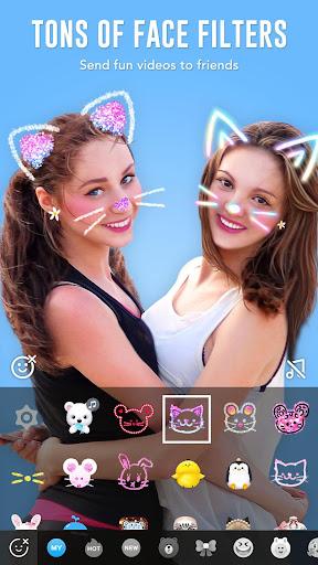 BOO! - AR Video Chat Camera Screenshot