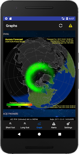 Aurora Alerts - Northern Lights forecast 2.7 Screenshots 3