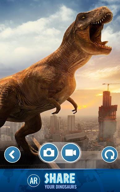Jurassic World Alive Android App Screenshot