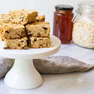 Healthy Oat And Honey Slice.