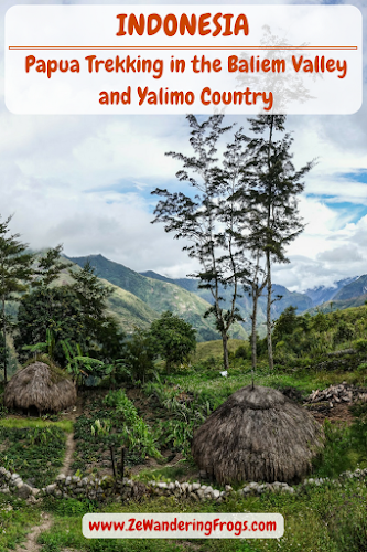 Indonesia. Papua Baliem Valley Trekking. Papua Trek in the Baliem Valley and Yalimo Country.
