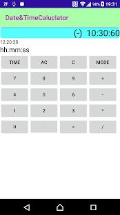 Date&TimeCalculator - náhled