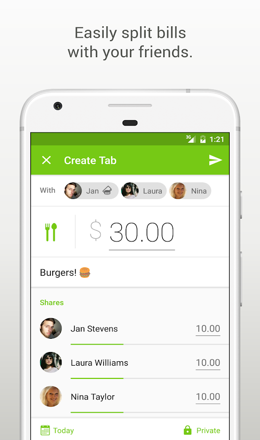 Tabbt - Share Expenses- screenshot