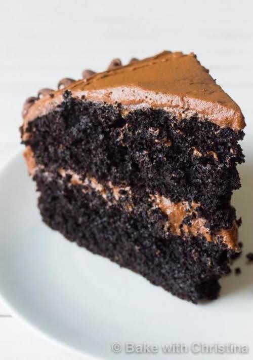 "Click Here for Recipe: Death-By-Chocolate Layered Cake ""I'm a huge chocolate lover,..."