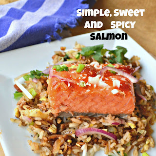 Simple Spicy Sweet Salmon