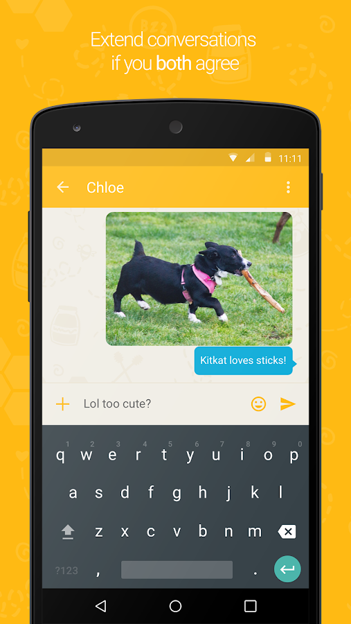 Buzz - Chat Safely- screenshot