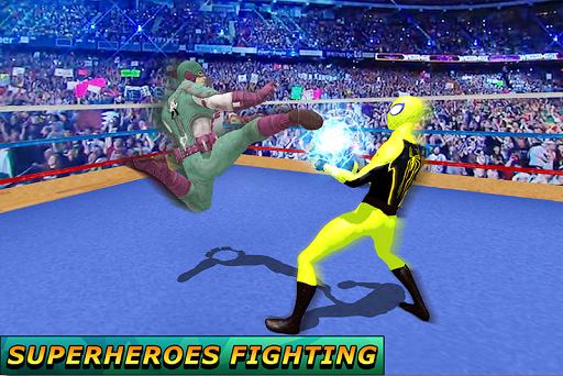 World Superhero Boxing Tournament 1.0 screenshots 1