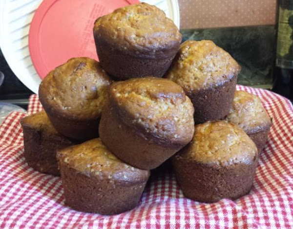 Peanut Butter & Banana Muffins Recipe