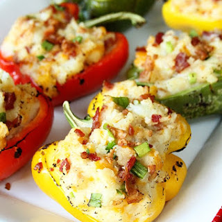 Stuffed Green Peppers And Side Dishes Recipes.