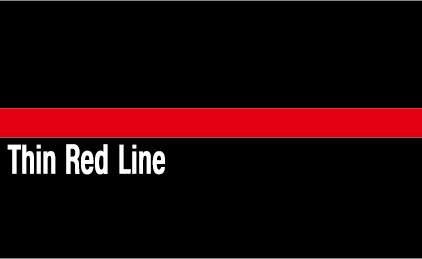 Thin Red Line Dekal 85X54mm