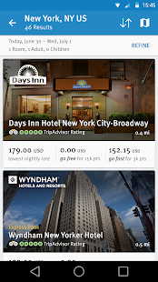 Wyndham Rewards- screenshot thumbnail