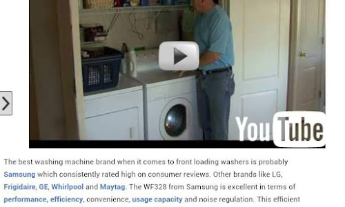 Front Loading Washers screenshot 2