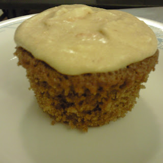 Gingerbread Cupcakes with Pumpkin Citrus Frosting