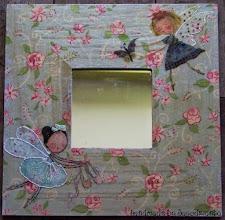 Photo: wooden mirror 5