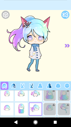 Cute Avatar Maker: Make Your Own Cute Avatar 2.0.2 Screenshots 7