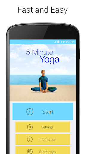 5 Minute Yoga screenshot 1