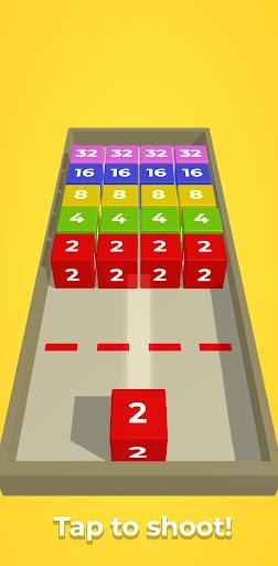 Chain Cube: 2048 3D merge game filehippodl screenshot 1