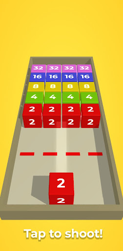 Chain Cube: 2048 3D merge game apktreat screenshots 1