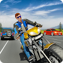 Tricky Moto Racing Traffic Highway Driving icon