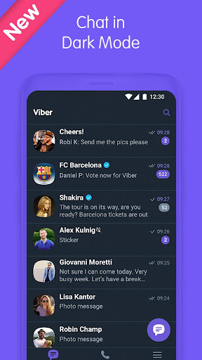 Viber Messenger - Messages, Group Chats & Calls 10.4.0.4 screenshots 1