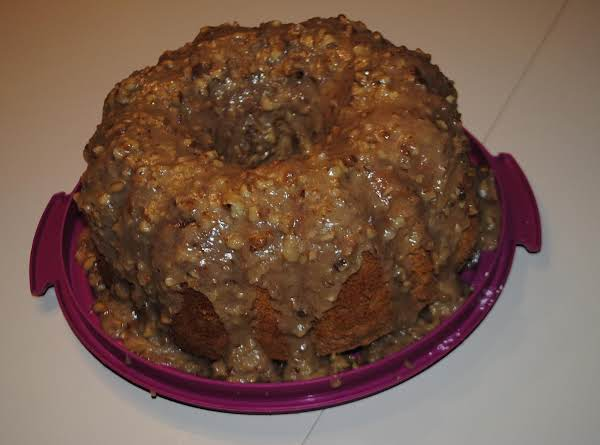 Spice Chiffon Cake Recipe