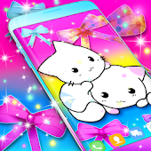 Cute kitty live wallpaper