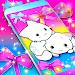 Cute kitty live wallpaper icon