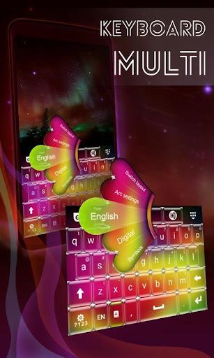 Keyboard Multi Color