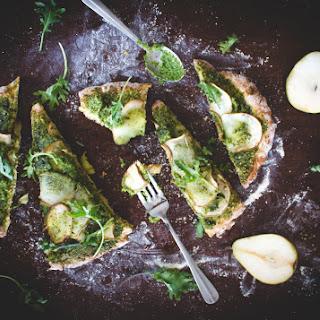 Green Pear Flatbread Pizza