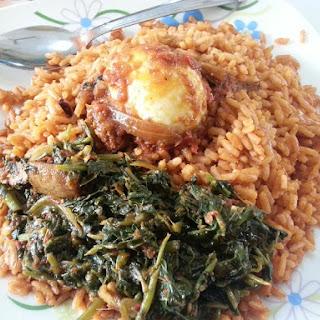 Jollof Rice.