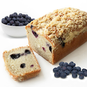 Mini Blueberry Streusel Loaf