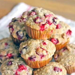 Cranberry Ginger Pecan Muffins