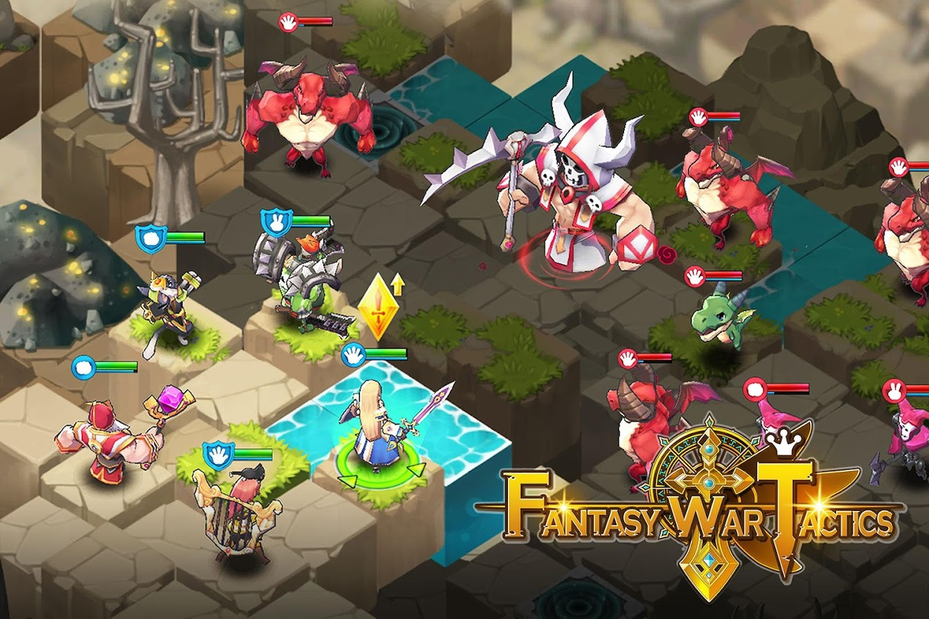 Fantasy War Tactics- screenshot