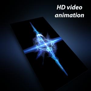 Galaxy S9 live wallpaper (blue supernova HD video) / Screenshots
