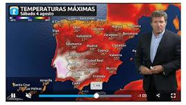 Previsión del tiempo en España para el fin de semana.