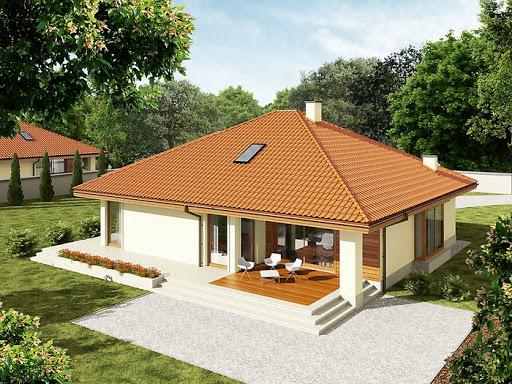 projekt Flori III G1 (wersja B) Leca® Dom