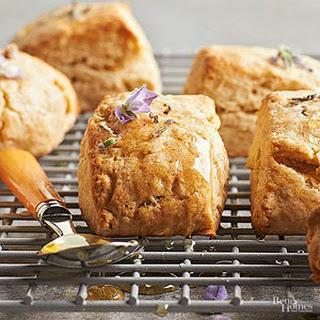 Lavender-Honey Scones Recipe