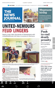 The News Journal Print Edition- screenshot thumbnail